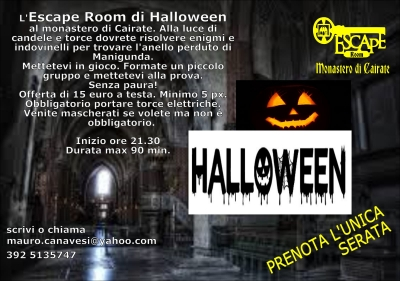 Escape Room Halloween