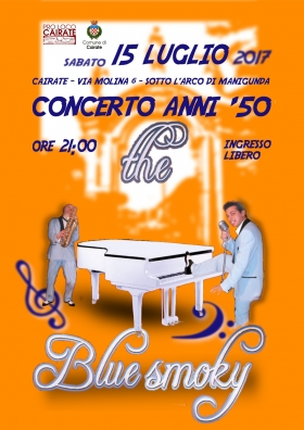 Concerto anni 50: The Blue Smoky